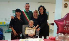 Treia festeggia i 105 anni di Ida Impecora (FOTO)