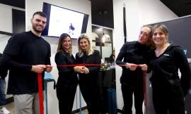 Porto Recanati, taglio del nastro per il centro fitness di Michela ed Elena: presente Adolfo Guzzini (FOTO)