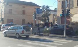 Corridonia, un uomo investito in via Santa Maria: trasportato al pronto soccorso