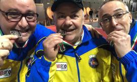 Tiro con l'Arco: Bianchini,Diomedi e Feliziani si laureano vice-campioni d'Italia