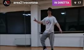 Corridonia, Area21vscorona: iniziano le lezioni di danza online di Gianluca Marrazzo