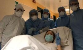 Civitanova, un raggio di sole all'ospedale: una mamma Covid dà alla luce Eva