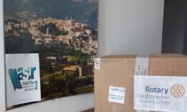Camerino, tute antistatiche per i medici dell'ospedale donate dal Rotary