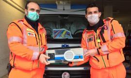 """Civitanova, sanificatore per ambulanze e uno strumento """"salva vita"""" in dono alla Croce Verde: """"Grazie alle donazioni"""""""
