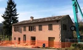 San Severino, post-sisma: torna agibile un'abitazione in località Serralta