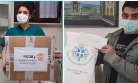 Treia, Casa di Riposo: Rotary e Real Casa Savoia donano 200 mascherine e tute al personale sanitario