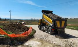 """Ripartono i cantieri: si lavora a Villa Potenza e sulla """"Pian Perduto"""""""