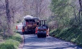 """Pieve Torina - Valfornace, al via i lavori di asfaltatura sulla provinciale """"Sant'Ilario"""""""