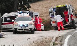 Morrovalle, incidente in contrada Palombaretta: due feriti