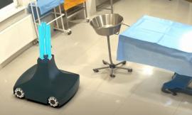 Porto Recanati, il progetto dell'ingegner Luca Tiseni: il nuovo robot per disinfettare gli ambienti (VIDEO)
