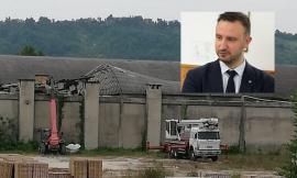 Montecassiano, crolla tetto all'ex Fornace Smorlesi: al via i lavori di rimozione amianto