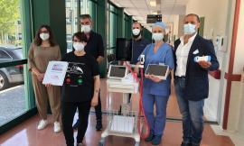 """""""Aiutiamoli ad aiutare"""",  consegnati all'ospedale di Camerino i tre ecografi frutto della raccolta fondi"""