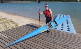 """Al lago di Caccamo ripartono le attività dell'associazione """"Monti Azzurri canoa kayak"""""""