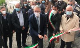 Pieve Torina, quattro famiglie tornano a casa dopo il sisma: inaugurazione col presidente Ceriscioli