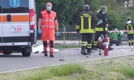 Treia, tremendo incidente lungo la provinciale: muore Roberto Martinelli, papà di due gemelli (FOTO e VIDEO)