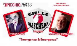 """""""Emergenza & Emergenze"""": il terremoto al centro dell'ottava puntata di """"Giù la maschera"""""""