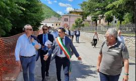 """Legnini in visita a Pieve Torina: """"Tra le migliori esperienze di ricostruzione post-sisma"""""""