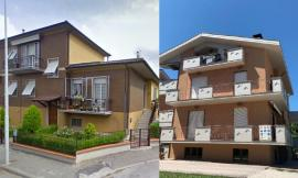 San Severino - post-sisma, tornano agibili due palazzine: altre famiglie tornano a casa