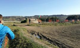 Potenza Picena, cade con la moto al Crossodromo: trasportato a Torrette in eliambulanza