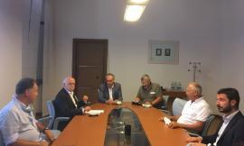 Cingoli, incontro con il commissario Legnini sul nuovo campus scolastico