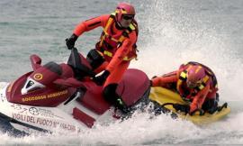 Porto Potenza, attivato il presidio acquatico dei Vigili del Fuoco