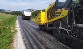 """Apiro, al via i lavori di asfaltatura e messa in sicurezza sulla provinciale """"Sant'Urbano"""""""