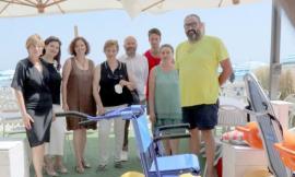 Civitanova, spiagge senza barriere: raddoppiano le attrezzature dedicate ai disabili