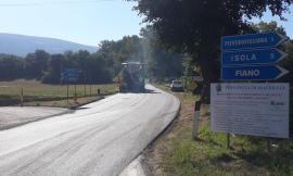 Lavori sulla provinciale Polverina-Fiastra: investiti 200.000 euro