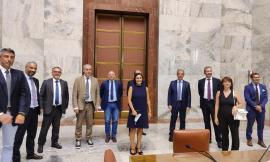 Zona economica speciale del Cratere, delegazione del territorio maceratese ricevuta al Ministero