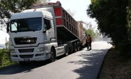 """Treia, da domani mattina riaprirà  al traffico la strada provinciale """"Piangiano"""""""