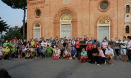 Treia, grande successo per la prima camminata all'alba in perdono di Assisi