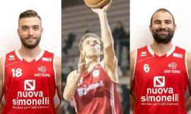 Nuova Simonelli Basket Tolentino, tre novità sul mercato estivo: ritornano Cimini,Nardi e Ortenzi