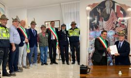 San Ginesio, l'Associazione Nazionale Alpini dona una tensostruttura al Comune