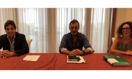 """Comitato """"No discarica"""" Montefano-Recanati: incontro con il candidato presidente Acquaroli"""