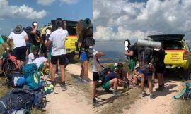 Restano senz'acqua durante l'escursione: caldo e stanchezza fiaccano un gruppo di scout