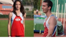 Atletica Leggera, Ambra e Sebastiano Compagnucci si qualificano ai campionati italiani