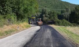 Lavori di asfaltatura sul tratto Belforte-Sfercia della Provinciale 180: 260.000 euro di intervento