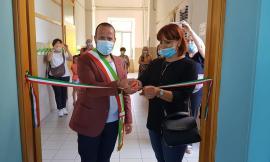 """Pollenza, nuova aula multimediale per la scuola primaria """"A. Frank"""" (Foto)"""