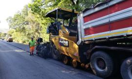 Pollenza, asfaltatura sulla Provinciale 124: 250 mila euro di lavori