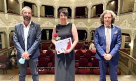 Montecosaro, Maria Cristina Bellantuono vince il Concorso Lirico Cerquetti (FOTO)
