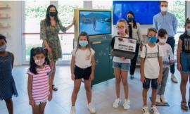 """Muccia,  al Polo Scolastico De Amicis arriva """"ABF Teachbus"""": la prima biblioteca digitale"""