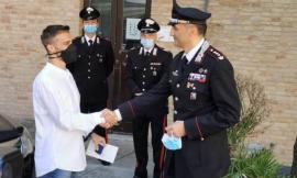 """Macerata, il Colonnello Roberti saluta la città e premia con """"encomio semplice"""" i Carabinieri della provincia (FOTO)"""