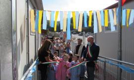 Valfornace, si apre l'anno scolastico con l'inaugurazione della nuova scuola dell'Infanzia