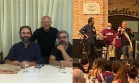 RisorgiMarche a Caldarola, concerto in piazza di Brunori Sas e Neri Marcorè