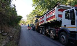 """Pollenza - Terminata l'asfaltatura sulla provinciale, Pettinari: """"C'è soddisfazione"""""""