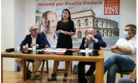 """Ricotta accoglie la De Micheli e rilancia: """"Una nuova uscita della superstrada per Macerata"""""""