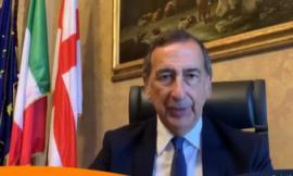 """Il sindaco Sala sta con Mangialardi: """"Ha le caratteristiche giuste per governare bene"""" (VIDEO)"""