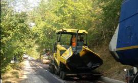 Fiastra, al via i lavori di asfaltatura sulla provinciale 58: in conclusione quelli lungo la 98