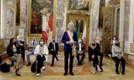 Macerata, Palazzo Buonaccorsi tiene a battesimo la nuova Giunta: Parcaroli presenta la sua squadra (VIDEO e FOTO)