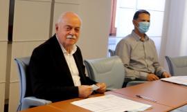 Macerata, 20 milioni di euro per le strade provinciali: Pettinari presenta il piano d'interventi (FOTO)